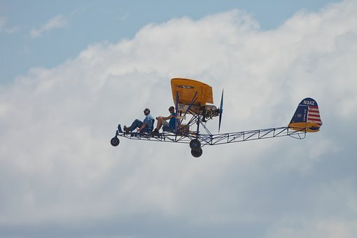 Airplane, Sky, Transportation, Plane, Flight, Aircraft