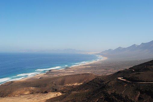 Cofete, Fuerteventura, Canary Islands, Spain, Beach