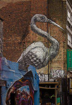 Street Art, London, Shoreditch, Eastend, Brick Lane