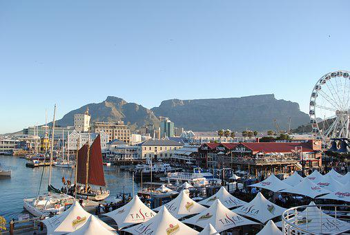 Cape Town, South Africa, Port, Table Mountain