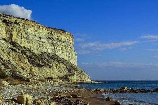Beach, Cliffs, Sea, Coast, Landscape, Scenic
