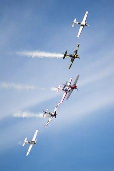 Air, Display, Plane, Control, Blue, Transport, Aircraft