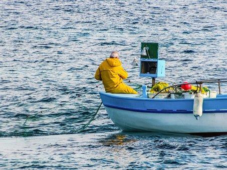 Fishing, Fishing Boat, Sea, Traditional, Fisherman