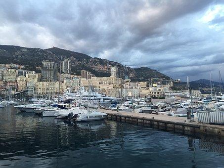 Cannes, France, Sea, Boats, Mediterranean, Landscape
