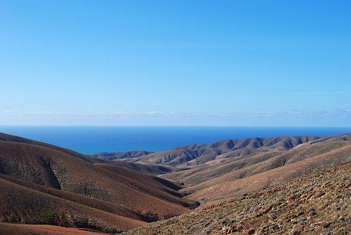 Fuerteventura, Canary Islands, Spain, Landscape