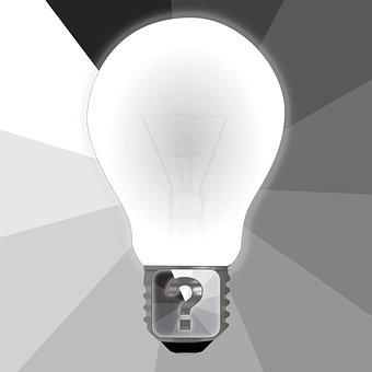 Question, Bulb, Idea, Question Mark, Solution, Quiz
