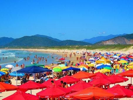 Beach, Joaquina, Summer, Heat, Sol, Beira Mar, Sand