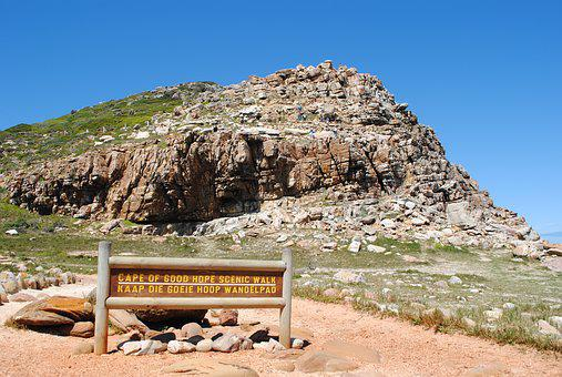 South Africa, Cape Of Good Hope, Southern Tip