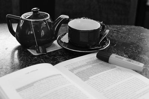 Free Time, Book, Tea, Relaxation, Read, Study