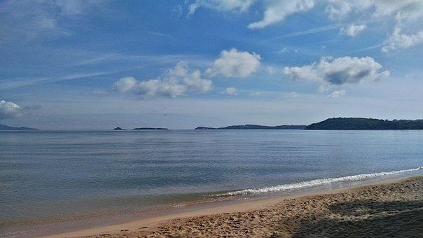 Bophut Beach, Fisherman's Village, Koh Samui, Thailand