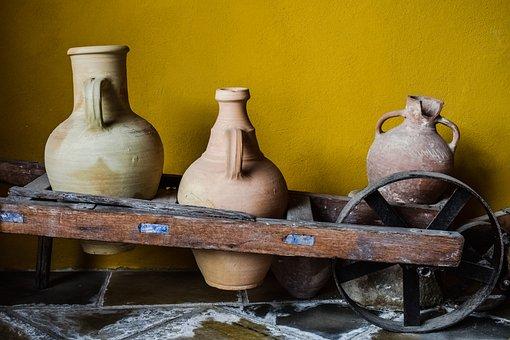 Pitcher, Pottery, Handmade, Traditional, Ceramic