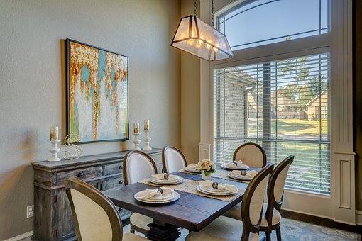 Dining Room, Dinner, Table, Room, Dining, Interior