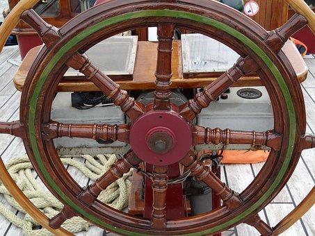 Sani Gear, Control, Ship, Sailing Vessel, Seafaring