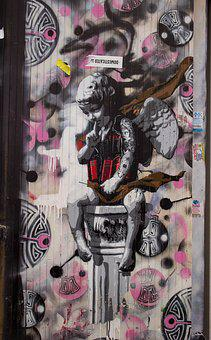 Street Art, London, Shoreditch, Eastend, Street