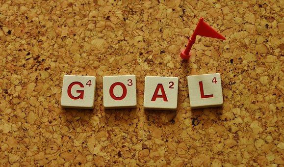 Target, Arrive, Reach, Set Target, Realize, Successful