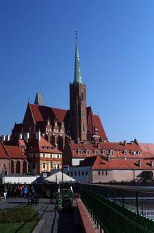 Wrocław, Ostrów Tumski, Friendly City, Architecture
