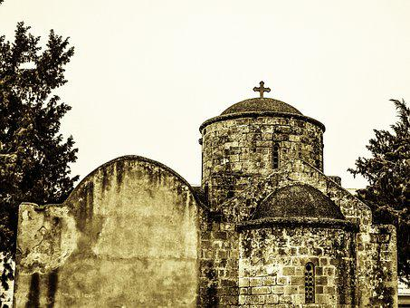 Cyprus, Paralimni, Ayia Anna, Church, Medieval