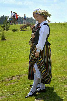 Girls, Folk Costumes, Womens, Ethnic, Summer