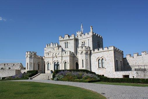 Condette, France, Château D ' Hardelot, Chateau
