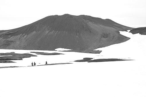 Iceland, Mountain, Glacier, Nature, Icelandic, Sky