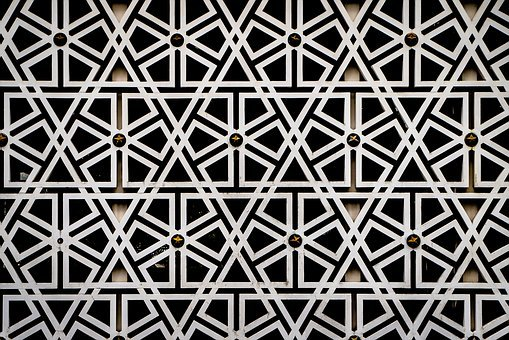 Arabesque, Pattern, Islamic, Geometric, Line, Mosque