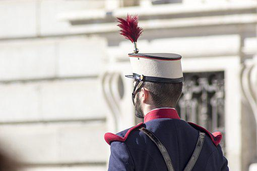 Royal Guard, Music Band, Madrid, Spain, Royal Palace