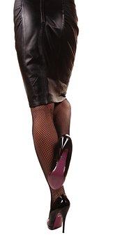 Pumps, Legs, Woman, Shoes, Paragraph, Clothing, Nylon