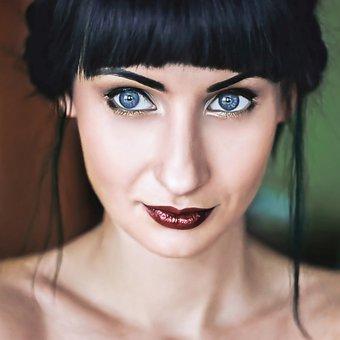 Girl, Portrait, Eyes, Figure, Person