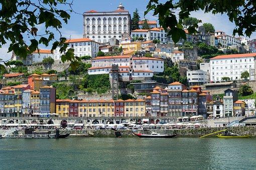 Porto, Portugal, River Douro, Ribeira, Historic City
