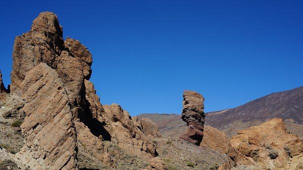 Tenerife, Canary Islands, Holiday, Volcano, Volcanic