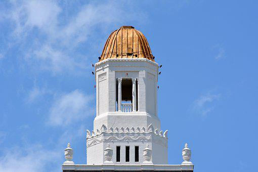 Bell Tower, Steeple, Church, Tower, Bell, Architecture