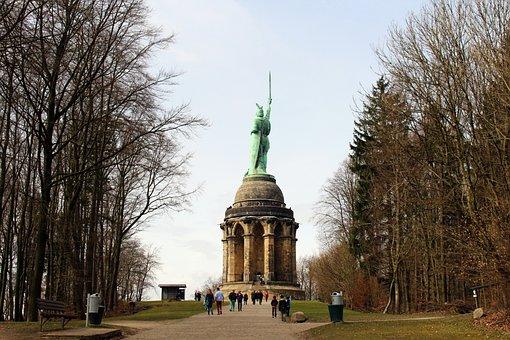 Hermann Memorial, Teutoburg Forest, Detmold, Tourism