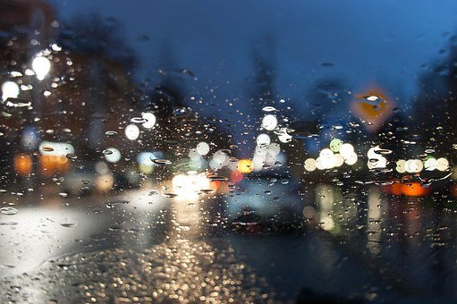 Car, Blur, Blurry, Background Bokeh, Bright, Lamp, City
