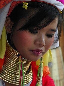 Woman, Thailand, Burma, Mountain Region, Mountain Tribe