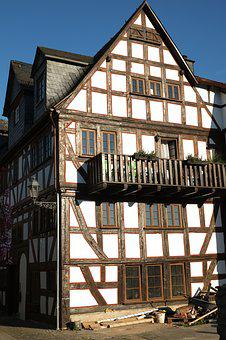 Fachwerkhaus, Truss, Old Town, Home, Building, Old