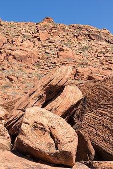 Boulder, Rock, Stone, Domino, Sandstone, Limestone