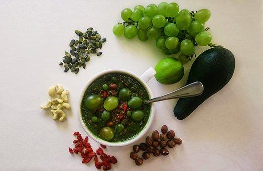 Healthy, Snack, Breakfast, Bowl, Cup, Spun, Cutout