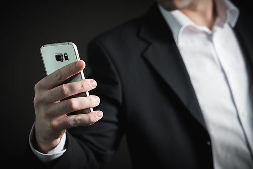 Business, Man, Smartphone, Phone, Mobile Phone, Busy