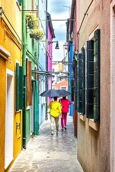Burano, Travel, Holiday, Summer, Tourism, Italy, Venice