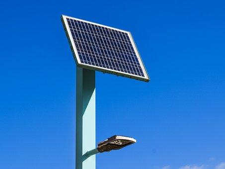 Solar Panel, Photo Voltaic, Lighting, Energy