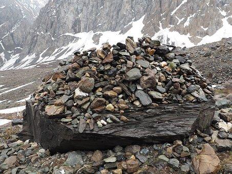 Mountains, Altai, Stones, Mountain Altai, Discovering