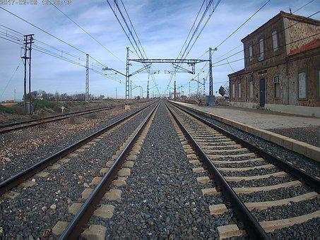 Train, Vias, Railway, Rails, Rail, Path, Trains, Travel
