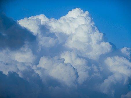 Sky, Cloud, Nature, Blue, Clouds Sky, White, Sky Clouds