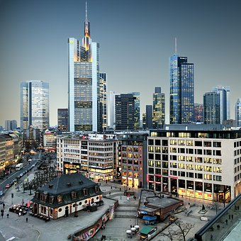 Germany, Frankfurt Am Main, Frankfurt, City