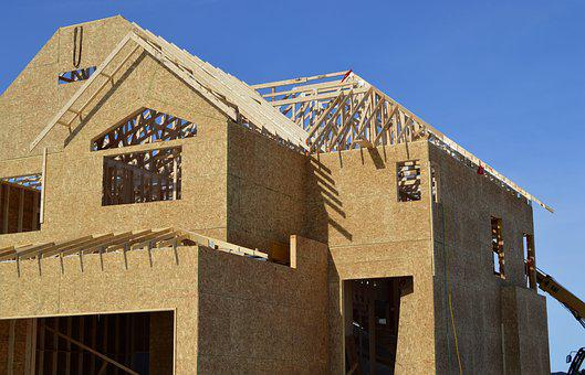 Construction, House, Building, House Construction