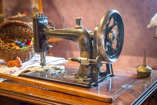 Sewing Machine, Sew, Tailoring, Hand Labor