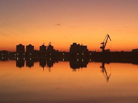 Landscape, Rio, Porto Alegre, Water, Nature, Tourist