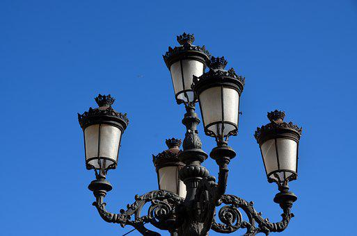 Lantern, Old, Lamp, Light, Historically, Street Lamp