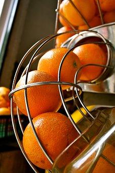 Oranges, Juice, Machine, Market, Stall, Citrus, Fruit