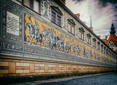 Dresden, Old Town, Princes, Saxony, Germany